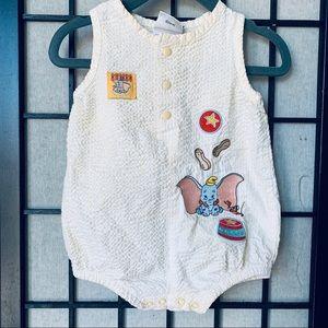 Disneyland Resort dumbo baby romper sz 6 months